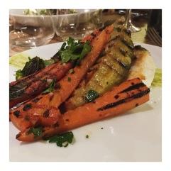 Lotte - carottes - pistache
