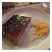 Terrine de foie gras caramélisés